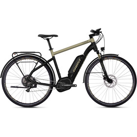 Ghost Hybride Square Trekking B5.8 AL 28, jet black/ext gold